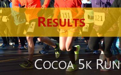 2020 Cocoa 5k Results